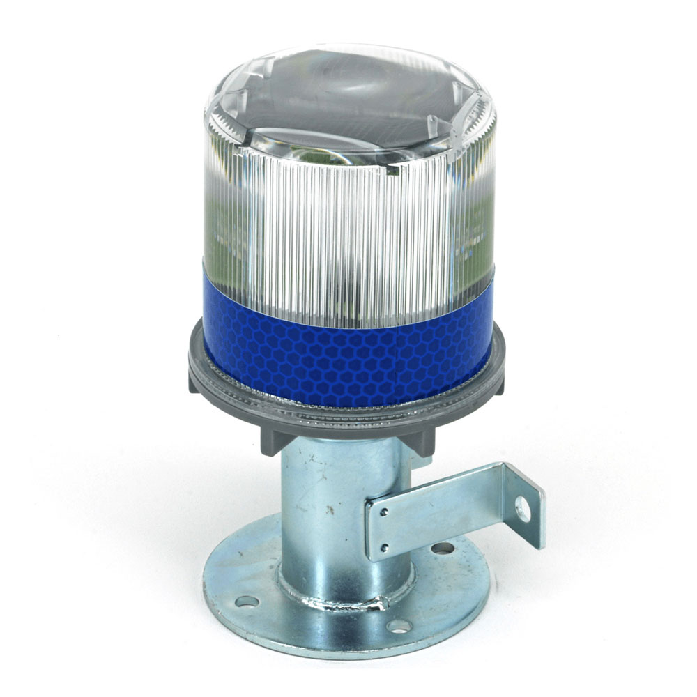 4050-012 Safety Solar Beacon Light - Blue LED Lake Lite LL-SBL-BLUE
