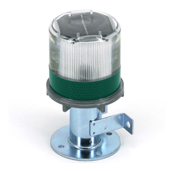4050-012 Safety Solar Beacon Light - Green LED Lake Lite LL-SBL-GREEN