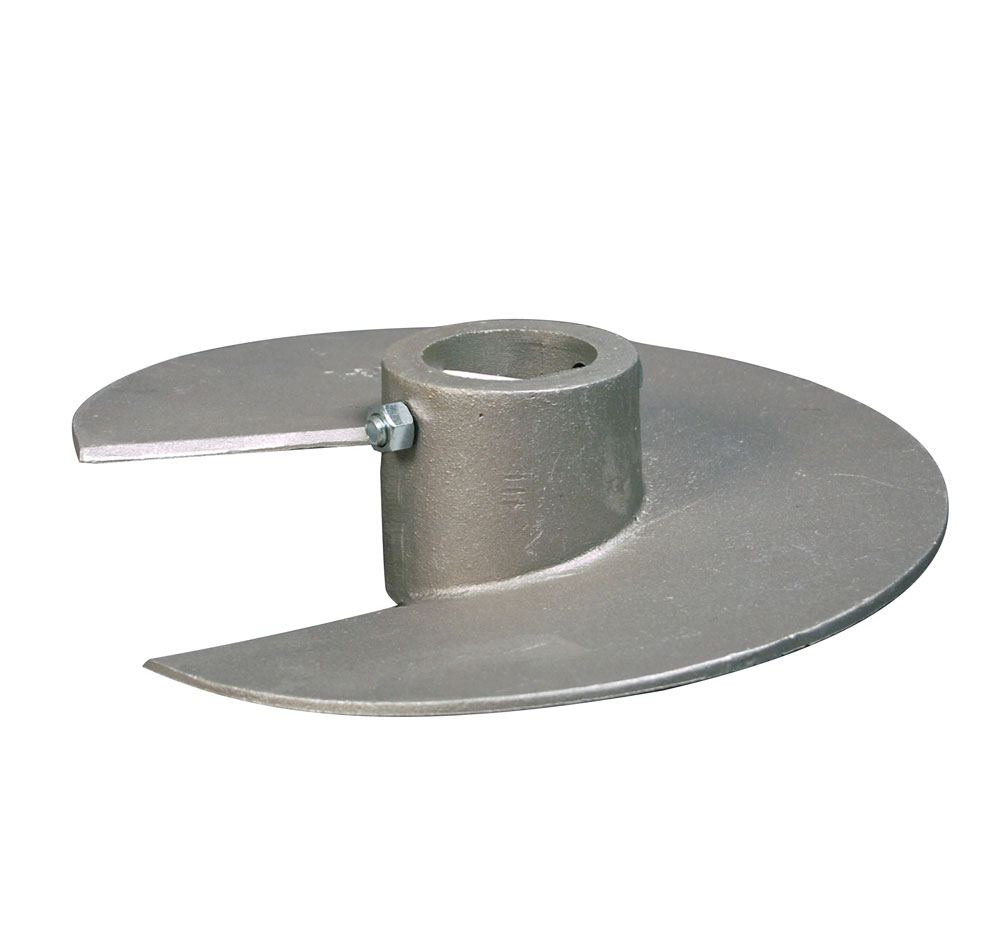 Standard Mud Dock Auger, Cast Aluminum - Mud Bottoms OD 1.78