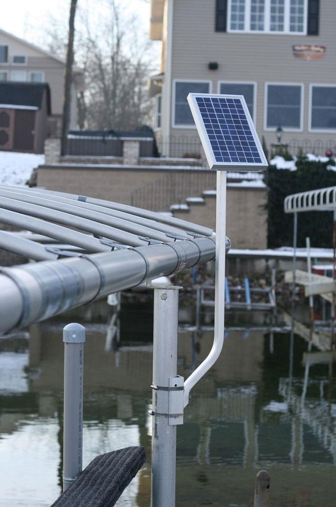 Boat Lift Solar Panel Charging Kit 5 watt / 12 Volt Lake Lite LL-SPCK-5w-12v