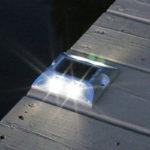Aluminum Marine Grade Dock & Deck Lights - White Lake Lite LL-SDL-DECK-R