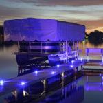 Aluminum Marine Grade Dock & Deck Lights - Blue Lake Lite LL-SDL-DECK-R