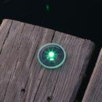 Solar Dock Dots Lights - GREEN Lake Lite LL-SDD-DOT-G