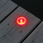 Solar Dock Dots Lights - RED Lake Lite LL-SDD-DOT-R