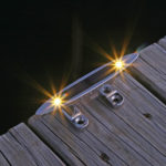"6"" Solar Cleat Light Lake Lite LL-SCL-6-W"