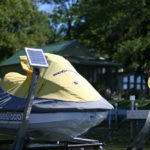"Boat Lift Solar Charging Kit 5w 12v with 12"" Arm"