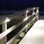 Solar Rail Light White Light Lake Lite LL-SRL-7-S-W