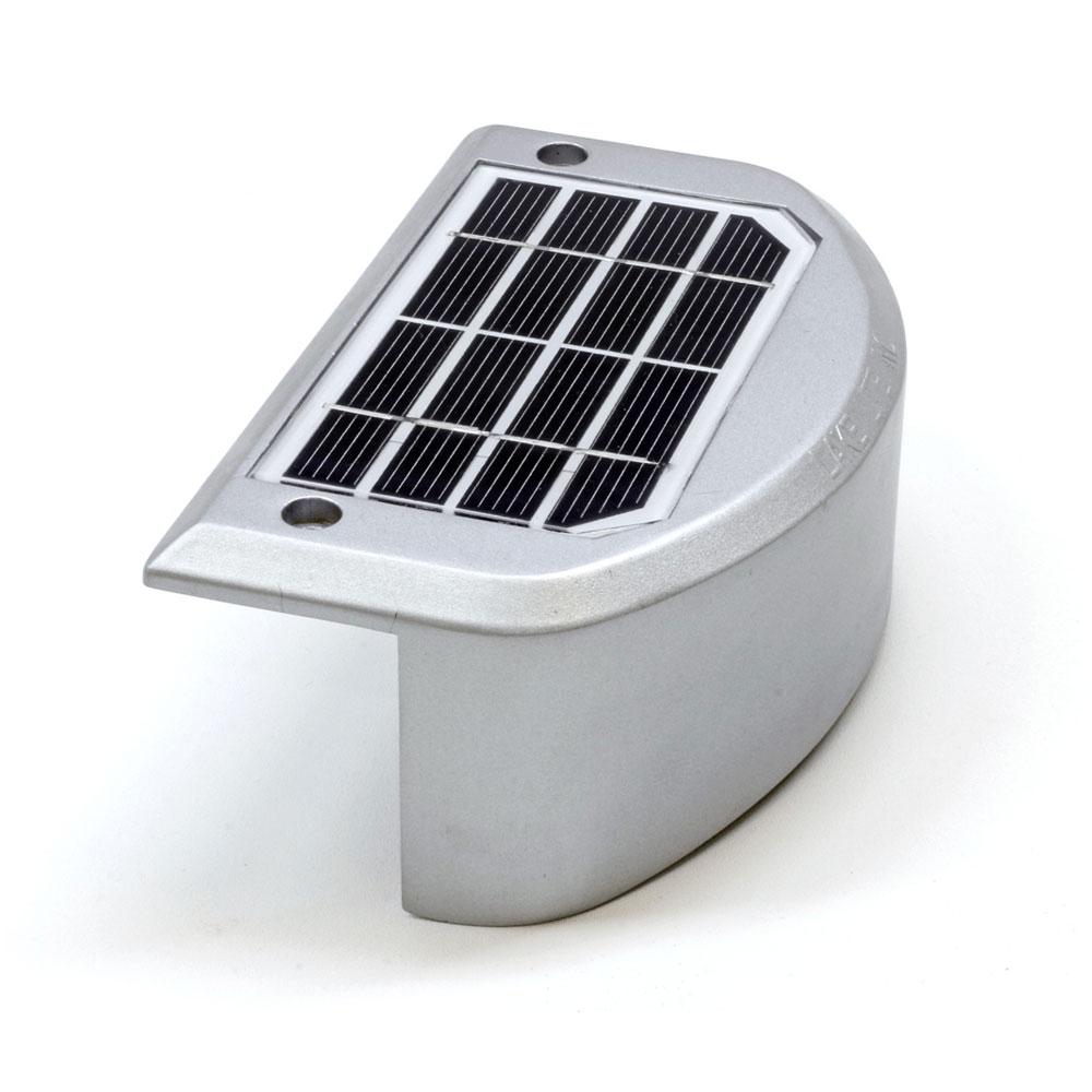 Solar Rail Light Amber Light Lake Lite LL-SRL-7-S-A