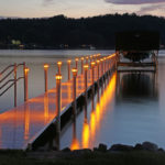 Solar Underglow Dock Light for Brock Docks Lake Lite LL-SDL-UG-TN-A
