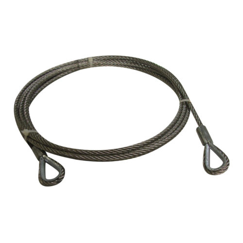 Galvanized Rear Cable for Great Lakes (Ref 3000rearcable)
