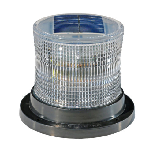Steady or Flashing Solar Marine Light Lake Lite LL-SML-WHITE