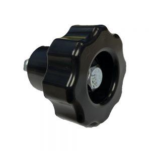 4043-030 ref Rugged Boat Lift Wheel Knobs Full Spinner Knob